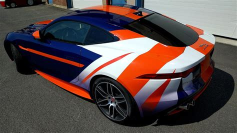 Bloodhound Ssc Inspired Jaguar F-type R Wrap [oc