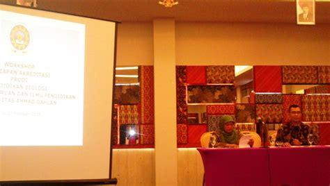 workshop persiapan akreditasi prodi pendidikan biologi