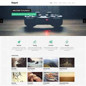 theme wordpress elegant With what wordpress template is this