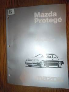 1998 Mazda Protege Wiring Diagrams Manual