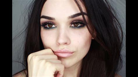seductive  smokey eye makeup tutorial youtube