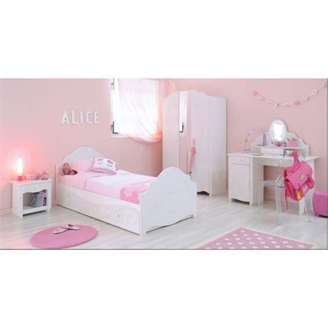 cdiscount chambre complete adulte chambre complète fille lit armoire chevet achat