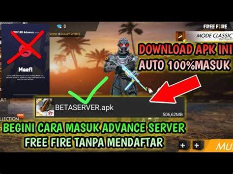 Ota yhteys sivuun garena free fire advance server liittymällä facebookiin tänään. CARA MASUK ADVANCE SERVER TANPA MENDAFTAR CUKUP DOWNLOAD ...