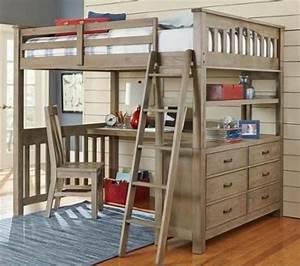 Ikea Lit En Hauteur : lit en hauteur avec bureau int gr les atouts ~ Teatrodelosmanantiales.com Idées de Décoration