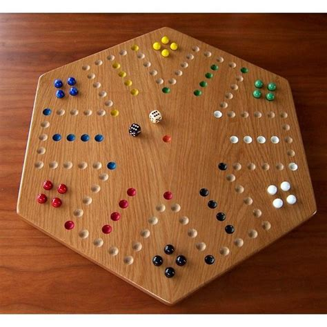 aggravation game board oak wood aggravation board