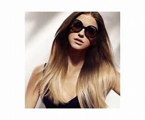 Ombré Hair Blond Foncé : extension cheveux tie and dye ombr clip ~ Nature-et-papiers.com Idées de Décoration