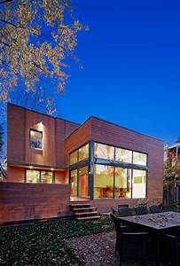 Contemporary, Home, Renovation, In, Montreal, Canada