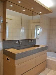 beau meuble de salle de bain design en vasque en pierre 25 With salle de bain design avec meuble pour salle de bain
