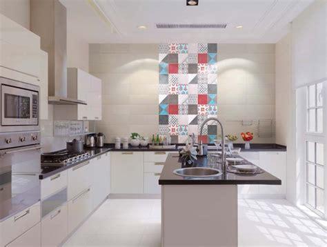 d馗oration d une cuisine faïence céramique carreaux de ciment et cuisine 20 idées d 39 intégration