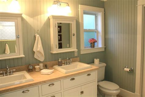 Colored Beadboard : Beadboard Bathroom Design Ideas