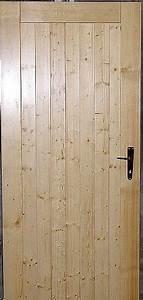 Dřevěné dveře venkovní
