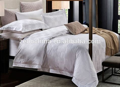 cotton wholesale white bedding sets complete bed linen for