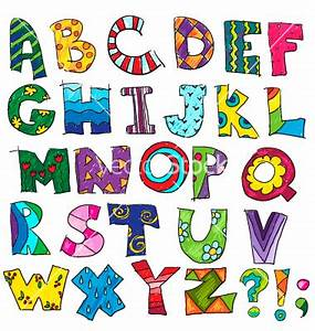 abc kids funny alphabet vector 1764144 by kamenuka on With kids letters
