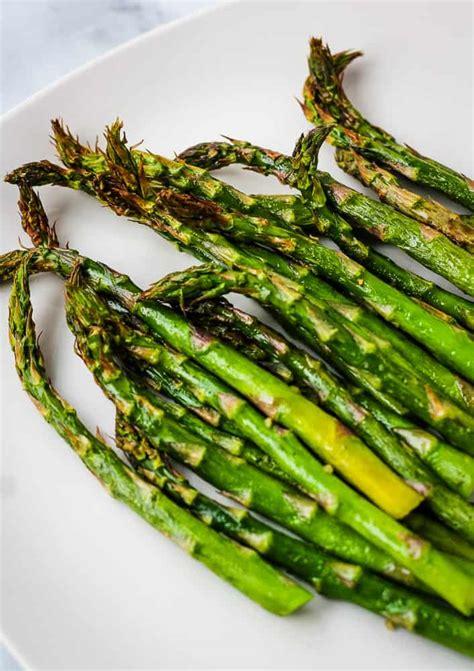 air fryer asparagus seasoning garlic ll why