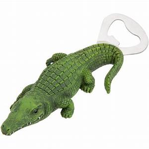 Green Alligator Bottle Opener with Magnet [834-82