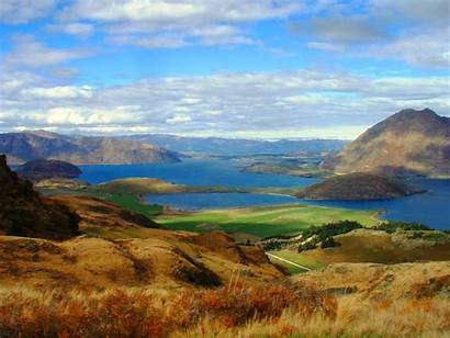 Wanaka Zealand Lake Restaurants Tourists Nz Midday