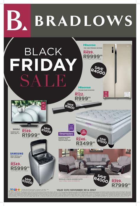 Bradlows & Morkels Black Friday Specials