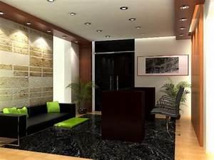 Office reception interior design – reception area ...