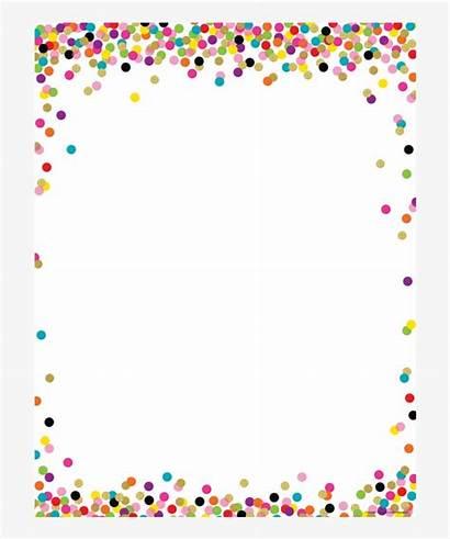 Confetti Border Pngkey Transparent Inappropriate