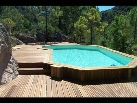 1000 ideas about piscine bois enterr 233 e on
