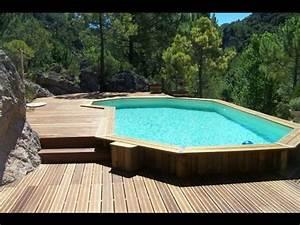 Piscine Enterrée Rectangulaire : 1000 ideas about piscine bois enterr e on pinterest stairs construire and piscine bois ~ Farleysfitness.com Idées de Décoration