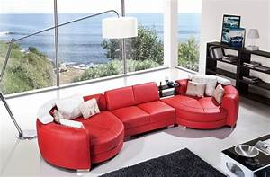 outstanding round chaise lounge designs decofurnish With sectional sofa with round chaise