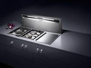 Hotte Encastrable Plan De Travail : hottes nouveaut s 2013 inspiration cuisine ~ Dailycaller-alerts.com Idées de Décoration