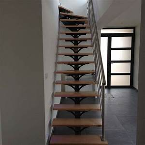 Fabriquer Son Escalier : comment fabriquer un escalier en bois 1 4 tournant ~ Premium-room.com Idées de Décoration