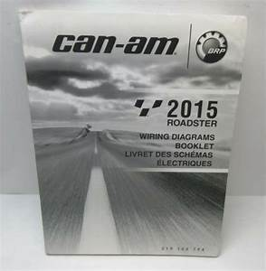 Can-am 2015 Roadster Wiring Diagrams Booklet