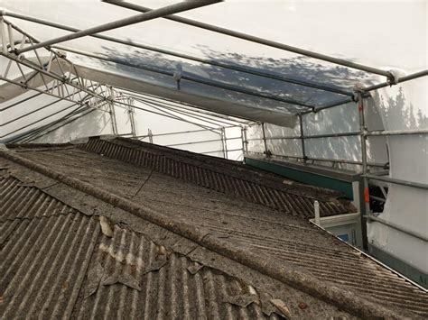 asbestos fibre cement roof removal aro valley