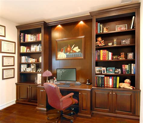Home Furniture Bookshelves by Image Result For Home Office Wall Units With Desk Home