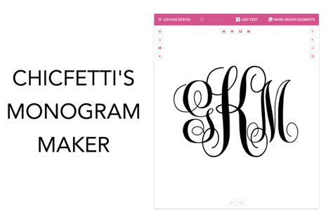 chicfetti monograms    monograms
