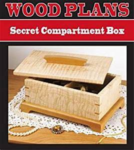 SECRET COMPARTMENT JEWELRY BOX WOODWORKING PAPER PLAN