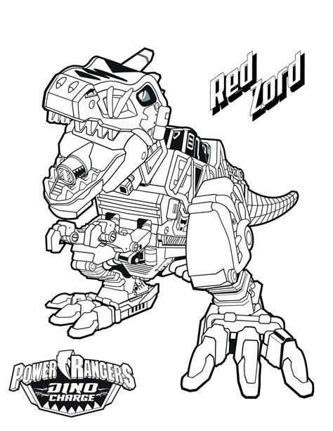 Power Rangers Megazord Coloring Pages Download Free