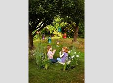 Picture Of Creative And Fun Outdoor Kids Play Areas