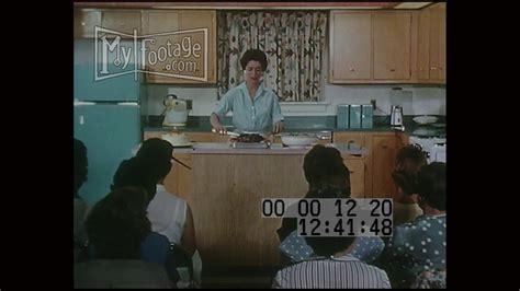 1950s Home Economic Class - YouTube