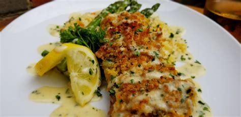 crusted panko grouper parmesan butter lemon sauce cream comments foodporn