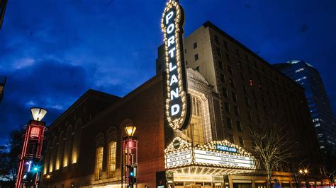 Iconic 'portland' Sign At Schnitzer Hall To Come Down For