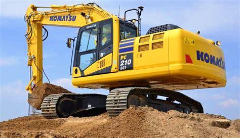 komatsu excavators prices     pricing