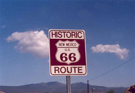 File Route66 Sign Jpg File Route66 Sign Jpg
