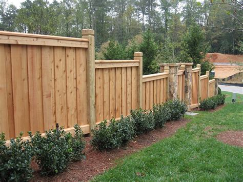 fences design custom fence design