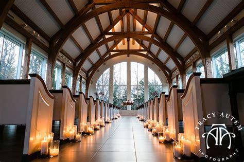 ashton gardens chapel in corinth at dusk winter