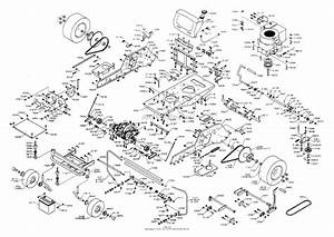 Dixon Ztr 3303  2000  Parts Diagram For Chassis