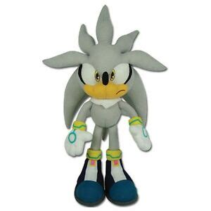 Sonic the Hedgehog Silver Plush Toys