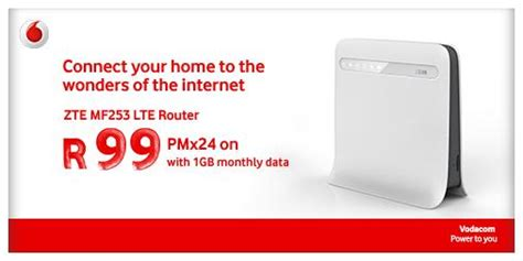 Vodacom On Twitter Get Your Zte Mf253 Lte Router For