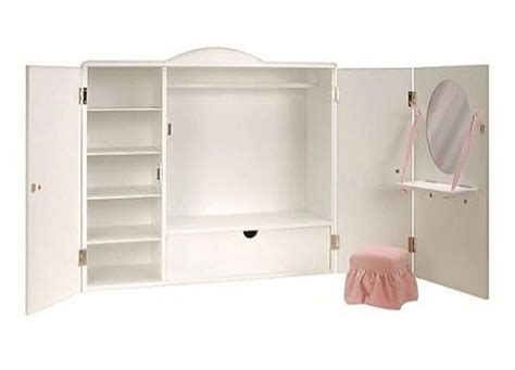 Our Generation Doll Closet by Doll Storage Wardrobe Doll Clothes Storage Pictured Our