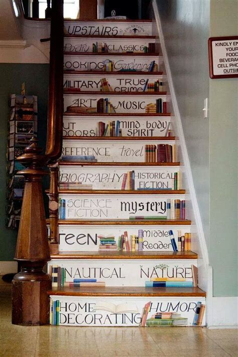 painted book staircase xcitefunnet