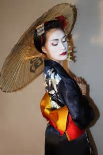 makeup artist belt geisha costume cable car couture