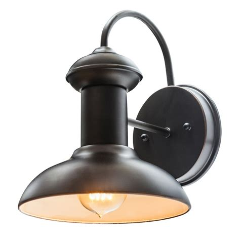 outdoor wall lighting sconces globe electric company martes 10 quot indoor outdoor wall sconce light reviews wayfair