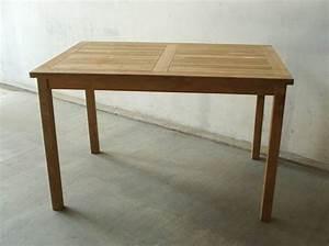 Tisch 110 X 70 : echt teak tisch gartentisch teaktisch 70 x 100 x 75 cm t16b ebay ~ Bigdaddyawards.com Haus und Dekorationen